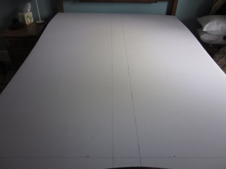 Ready to cut the mattress!