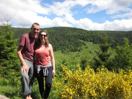 Hiking in the Vosges, France