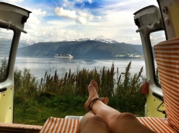 One of our best views, Norwegian Fjord