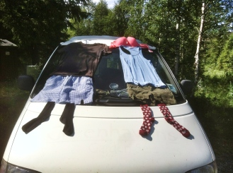 Laundry Day in Sweden