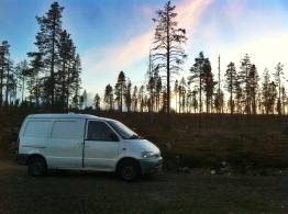 11.30pm in the Finnish Lapland