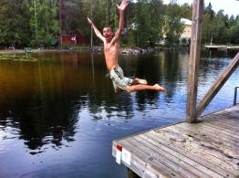 Bathtime in Finland