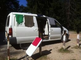 Laundry Day in Romania