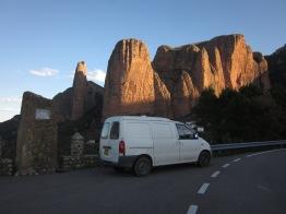 Incredible rock formations in Spain