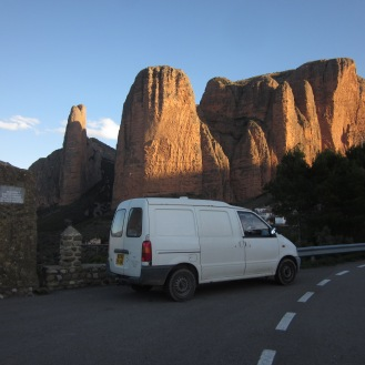 Incredible rock formations in Spain