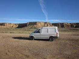Driving through Northern Spains desert