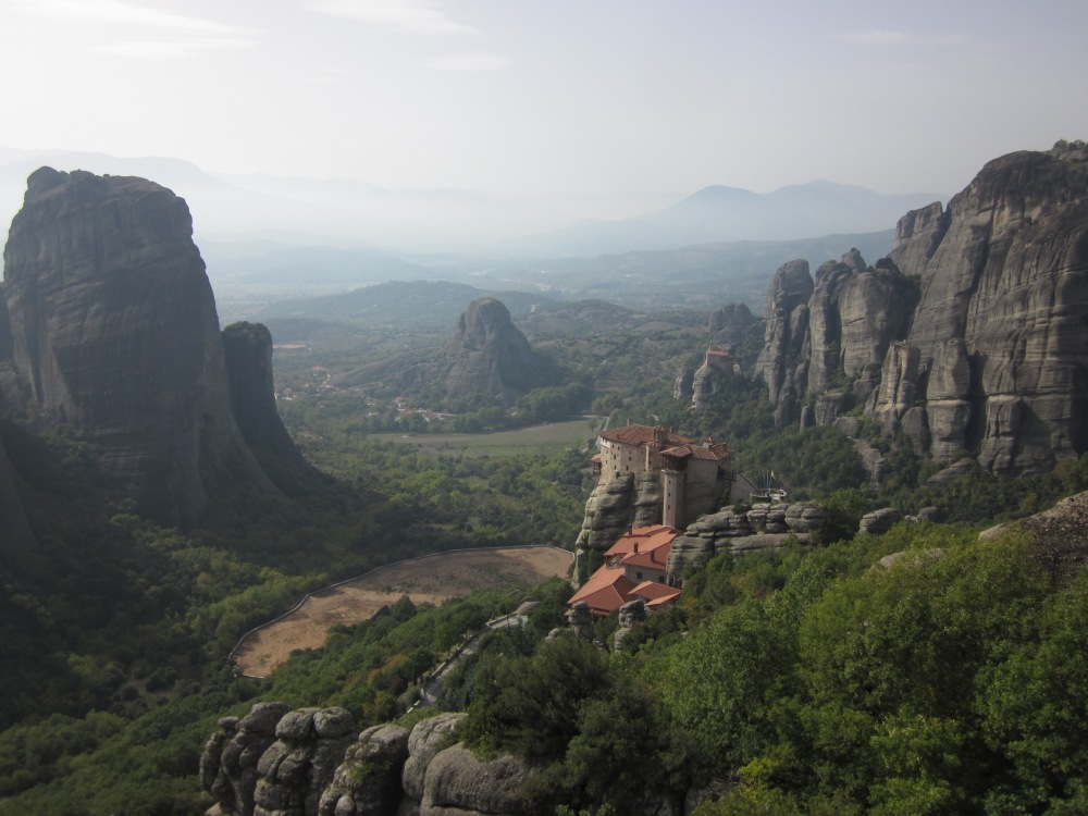 The beautiful monastery's of Meteora.