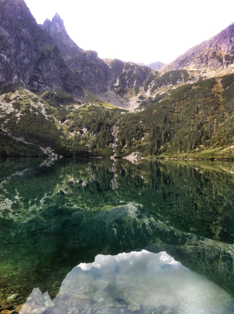 The Tatra Mountains, Morskie Oko Lake.