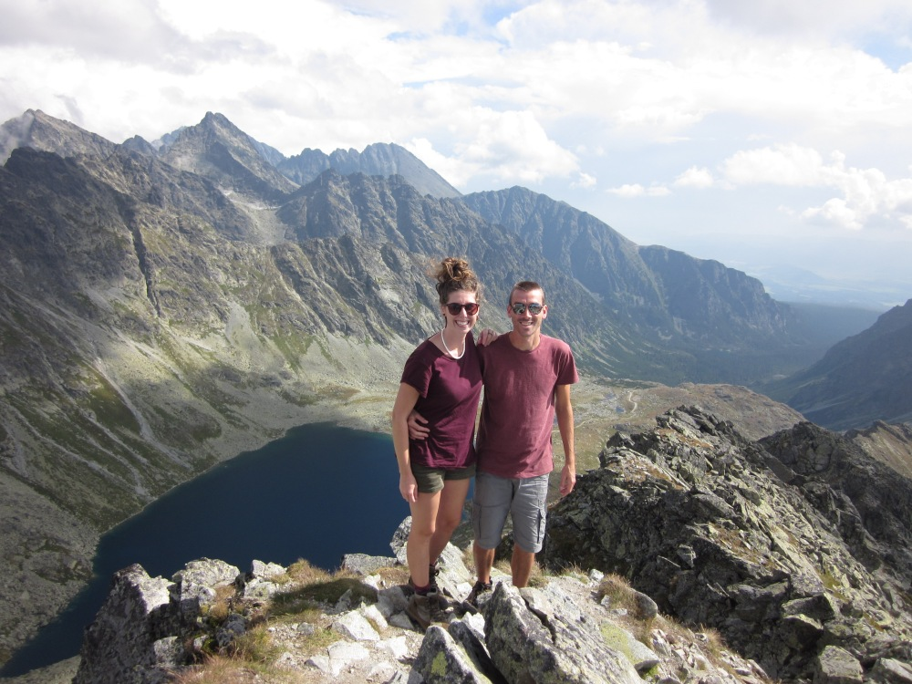 A rewarding summit hike in The Tatra Mountains