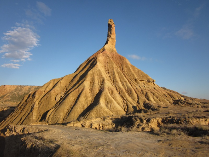 The highlight of Bardenas Reales park.